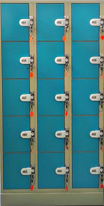 ארון לוקרים 15 דלתות